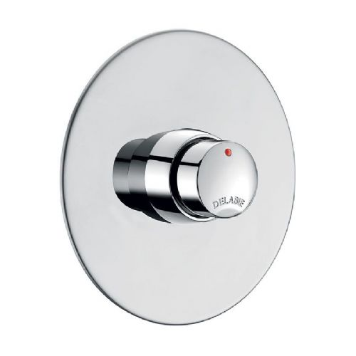 Delabie 749428 TEMPOSOFT 2 Recessed Push Time-Flow Shower Valve